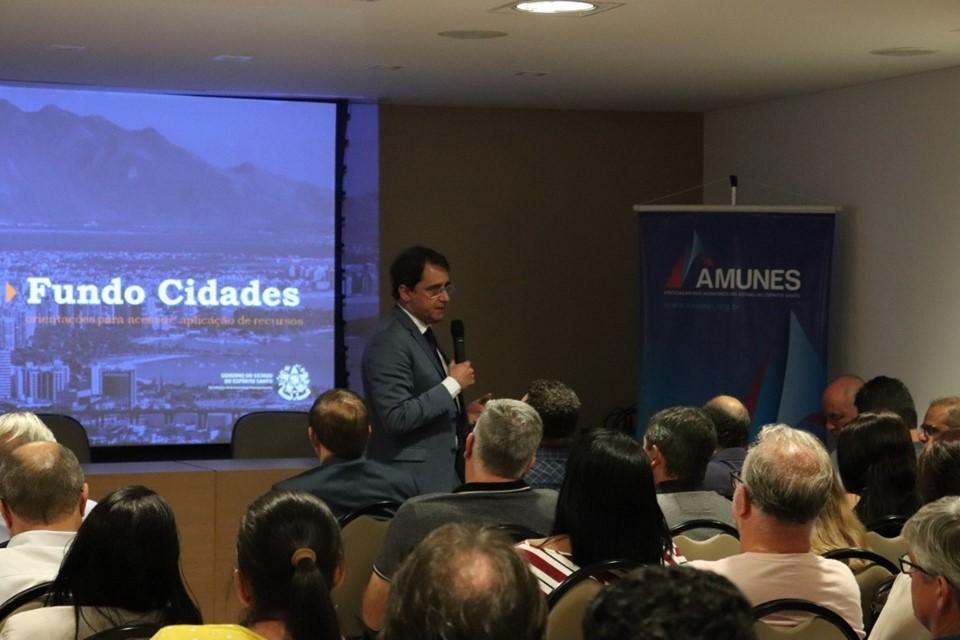 Secretaria de Economia e Planejamento orienta municípios capixabas sobre o Fundo Cidade 1