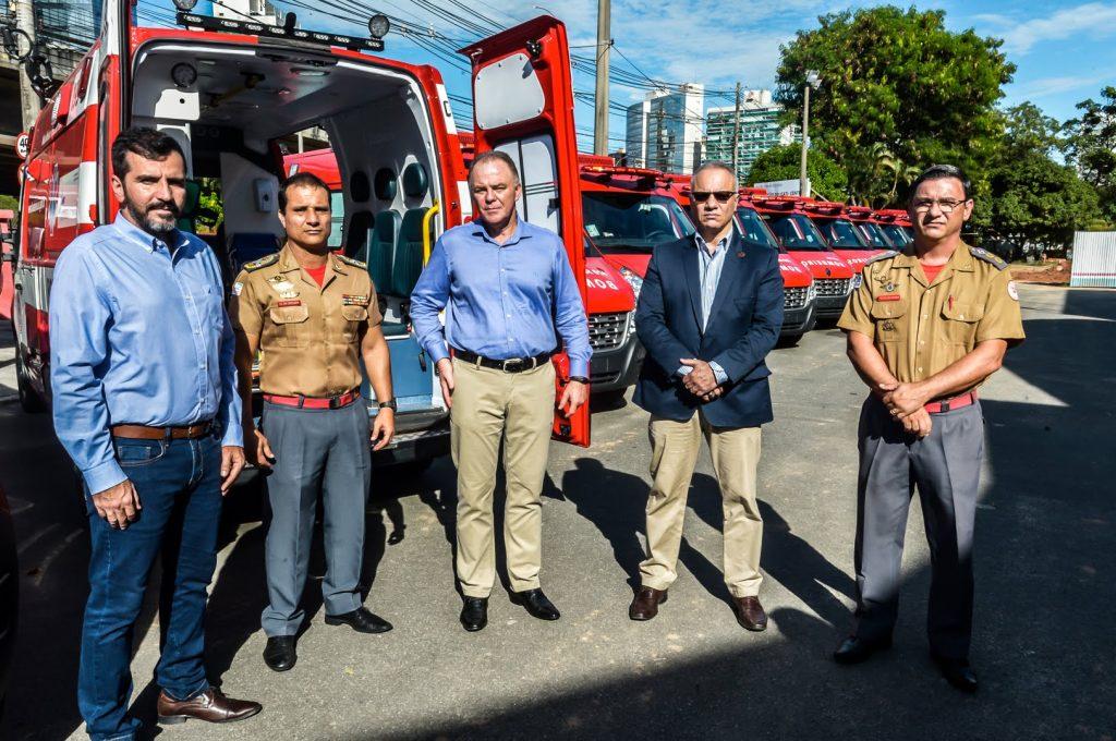 Em parceria com o Detran|ES, Corpo de Bombeiros adquire 20 viaturas para resgatar vítimas de acidentes 2