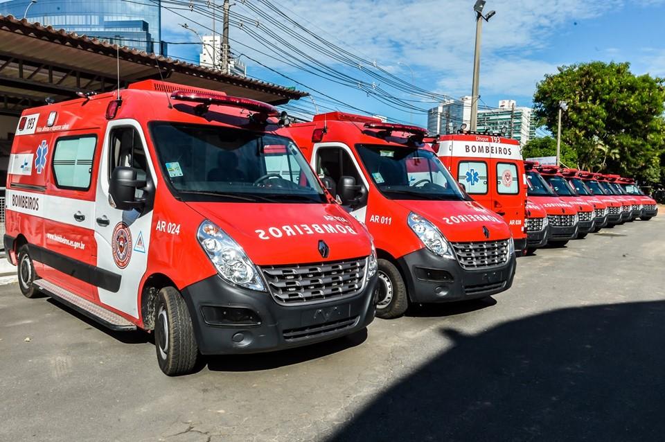Em parceria com o Detran|ES, Corpo de Bombeiros adquire 20 viaturas para resgatar vítimas de acidentes 1