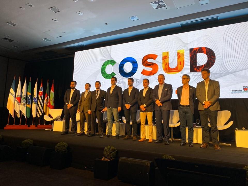Governador Casagrande participa do sexto encontro do Cosud, no Paraná 1